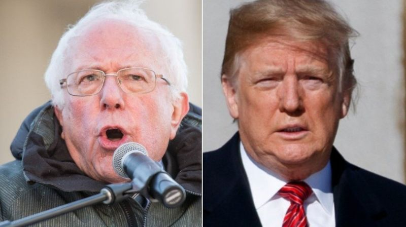 Bernie sanders flat-out calls Donald Trump a 'racist'