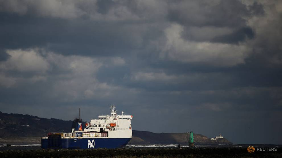 Britain's P&O re-flagging its UK ships to Cyprus ahead of Brexit