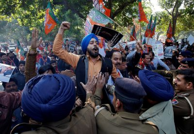 Election anxieties in India stoke religious tension