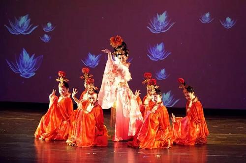 黄帝文化声名远扬 秦声国韵风靡全美