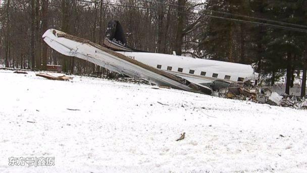 机龄达77年!美国一架老爷级飞机坠毁住宅区前,酿2死4重伤!