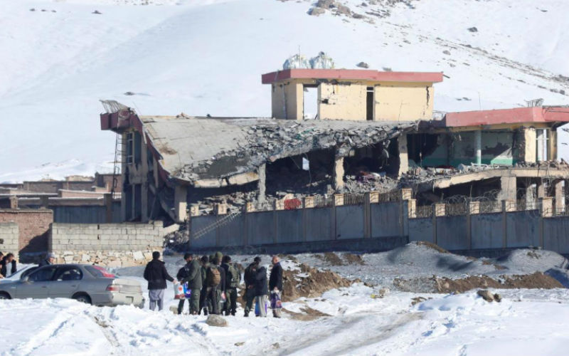 Taliban attack kills more than 100 security personnel in central Afghanistan