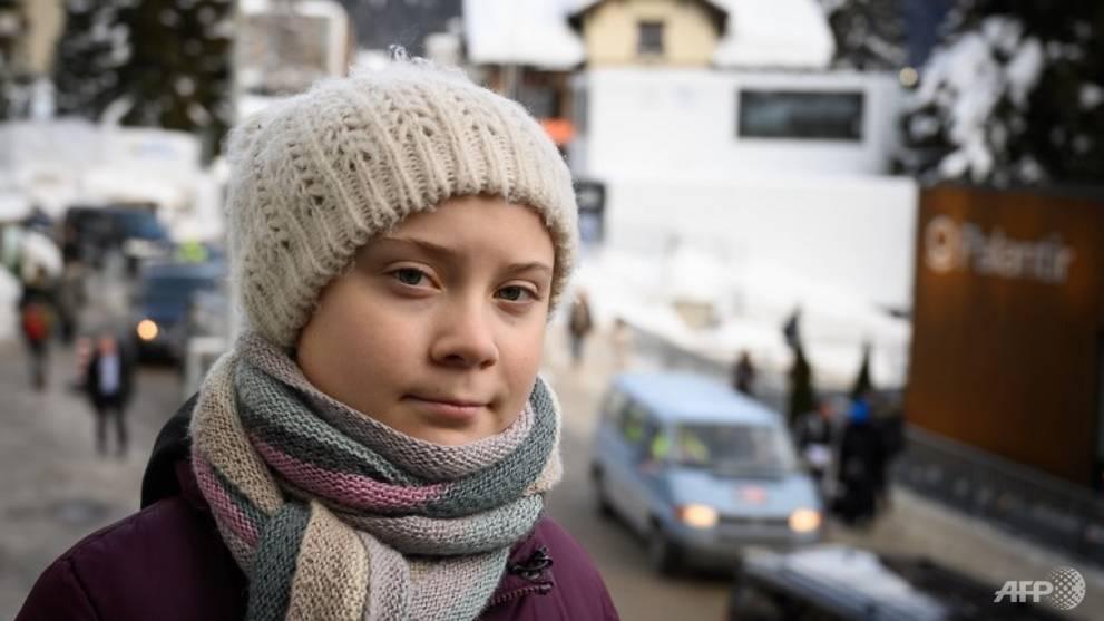Swedish teenager upstages China, Brexit at Davos