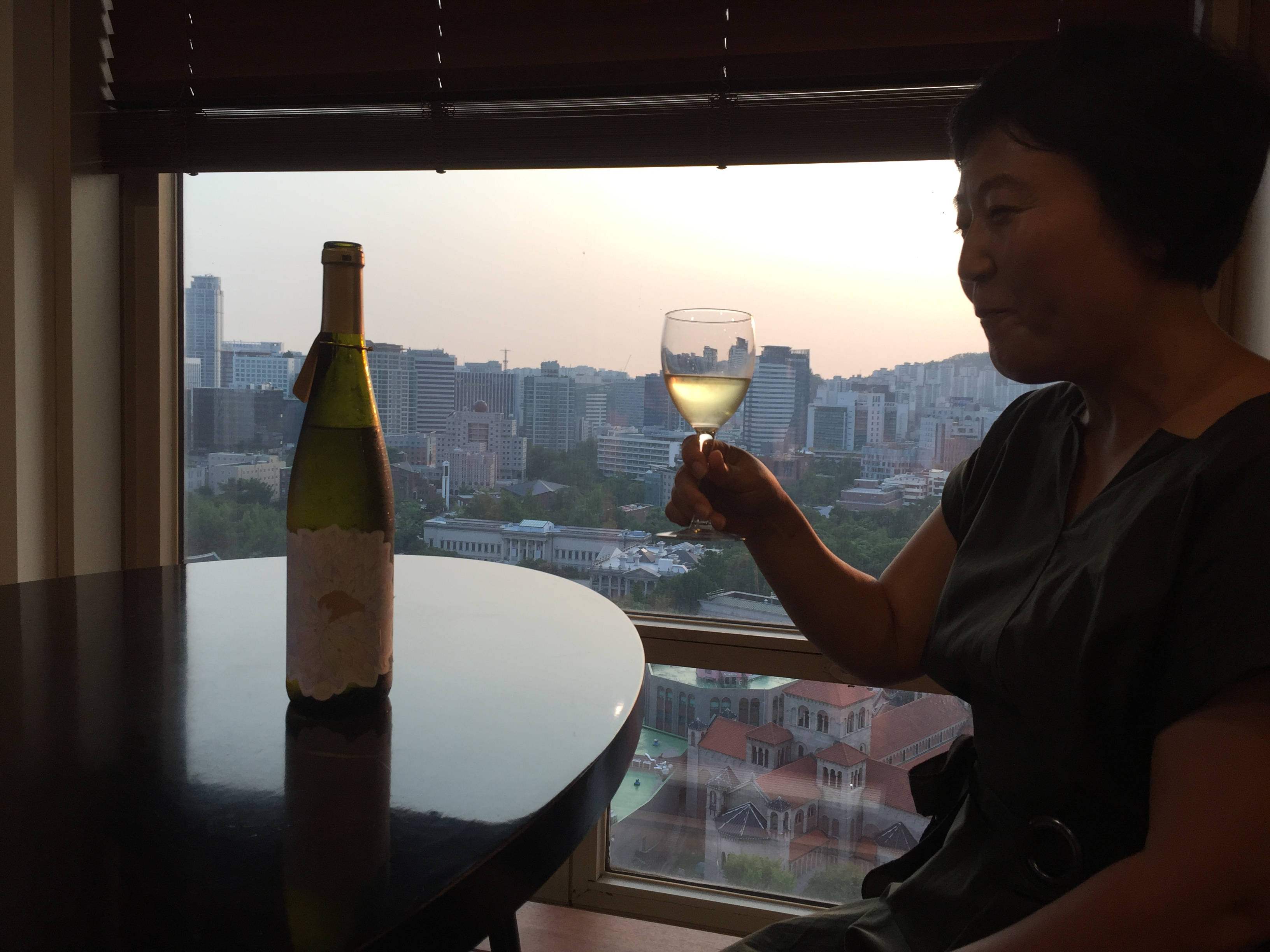 Wine entrepreneur gets peace of the action in Korea