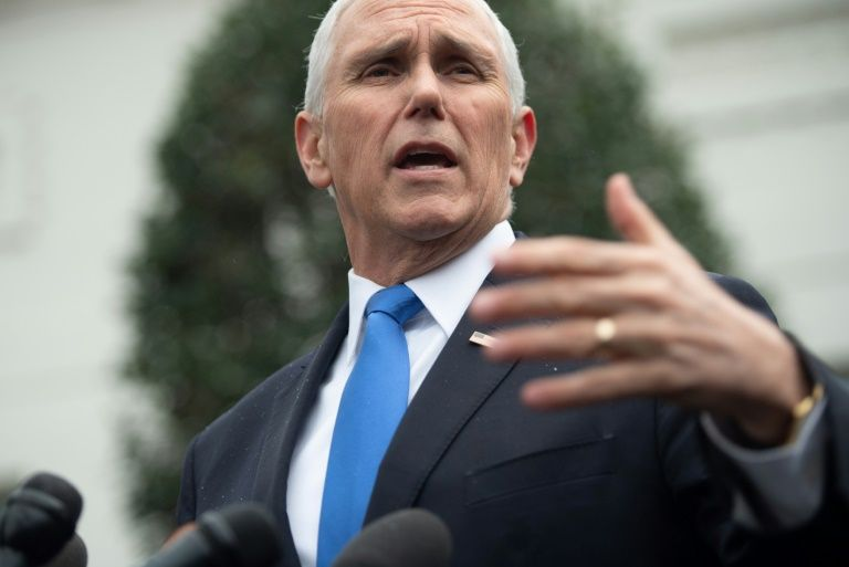 US vice President to venezuelan opposition: 'we are with you'