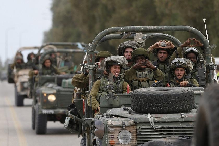 Israel says strikes Hamas post after gunfire at troops