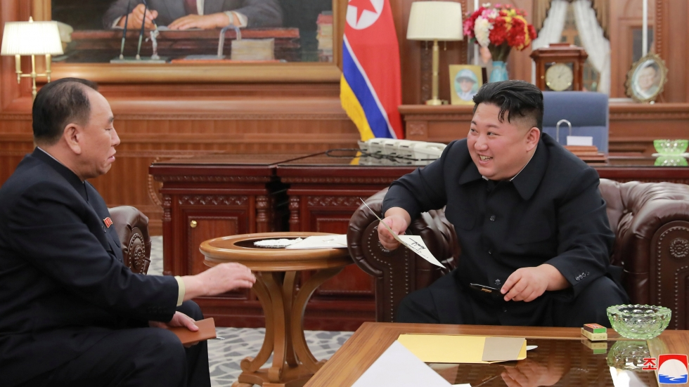 North Korea's Kim Jong-un tells of 'great satisfaction' at plans for second summit with Donald Trump, praising US leader's 'positive way of thinking'