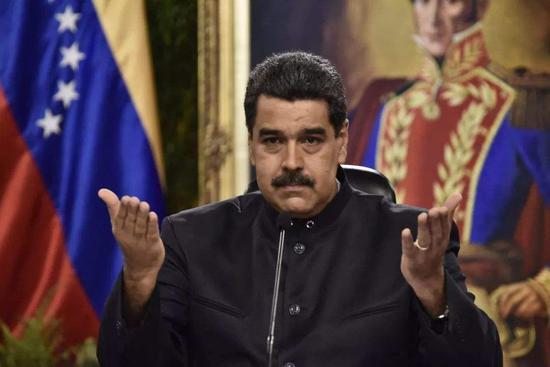 委总统马杜罗:委内瑞拉和美国断绝外交关系