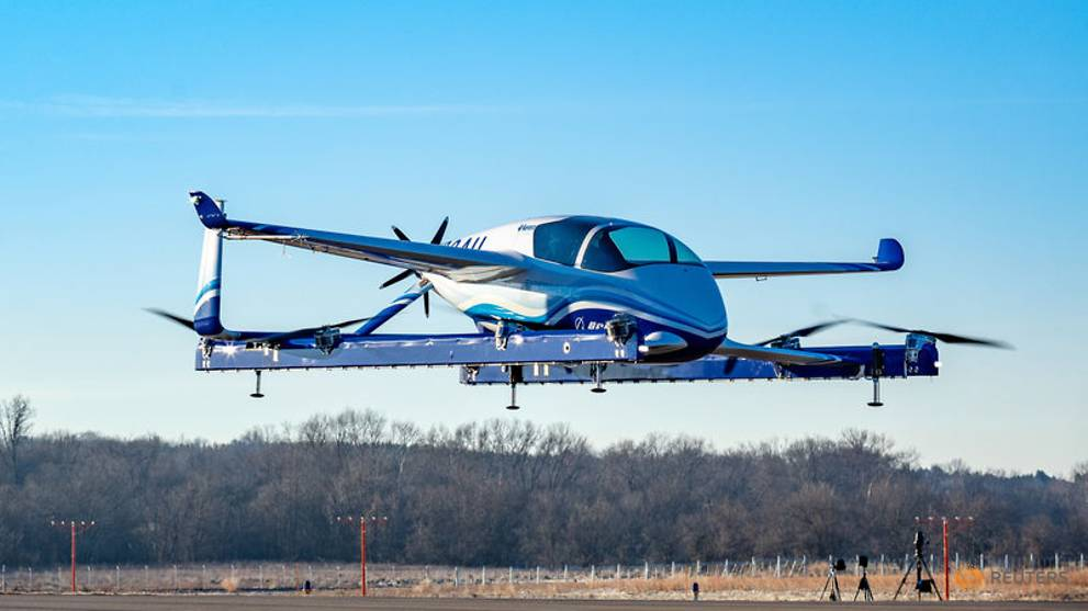 Boeing's flying car lifts off in race to revolutionise urban travel
