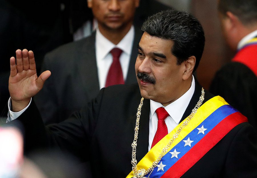 Venezuela's military backs Maduro as standoff hardens with US