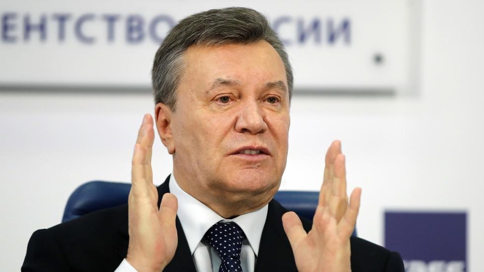 Viktor Yanukovich, former president of Ukraine, found guilty of treason