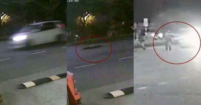 出来面对😡一大早飞车把60岁女清洁工撞到当场一命呜呼😭司机油都没停的逃之夭夭……