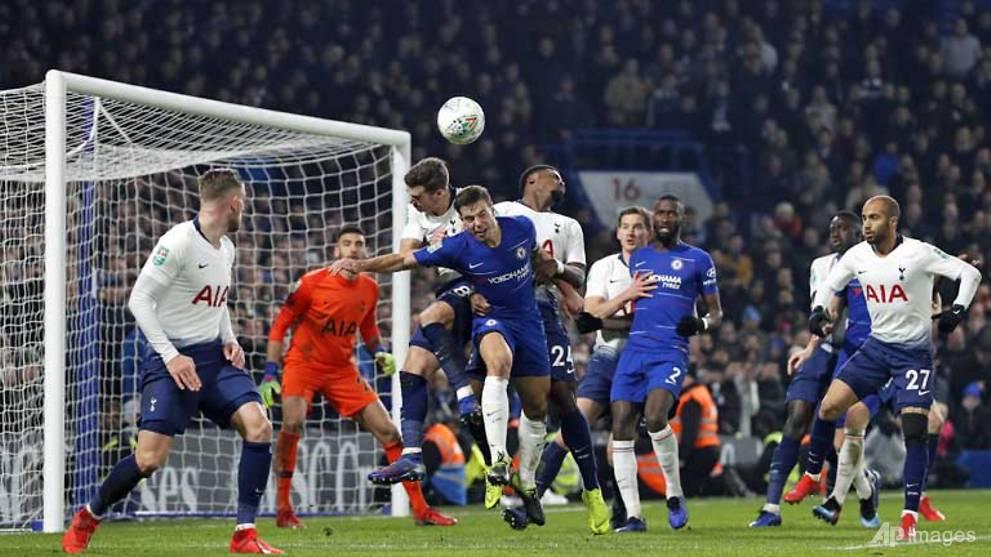 Football: Chelsea beat Tottenham to progress to League Cup final