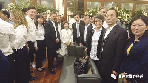 施至成昨日安葬,福建省吊唁团专程来菲表示敬意