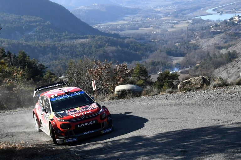 Champion Ogier powers into Monte Carlo lead