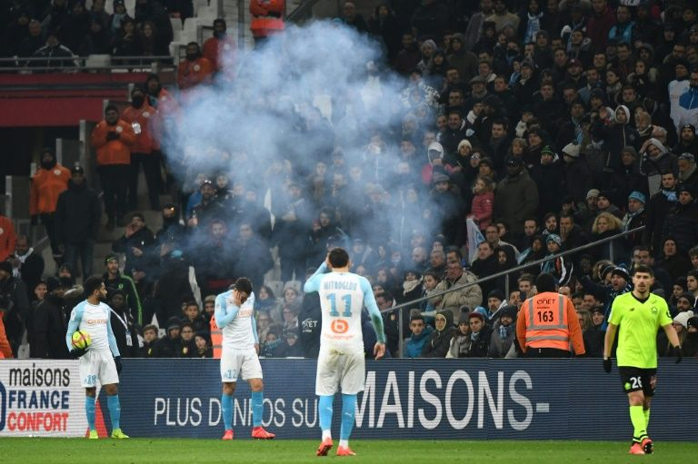 Balotelli scores but Marseille crisis deepens as firework explodes, fans strike