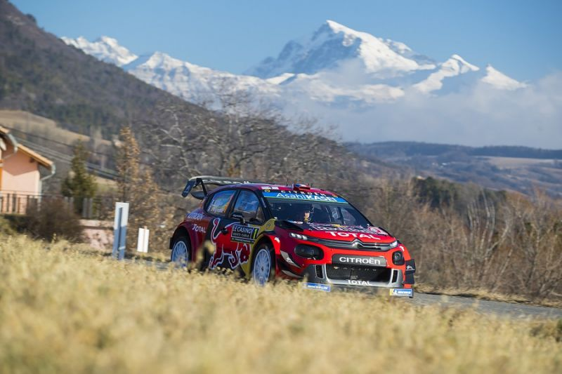 Monte Carlo Rally WRC: Sebastien Ogier leads from Thierry Neuville