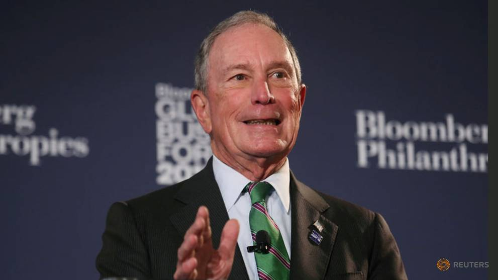 US Democrat Bloomberg says Trump is 'flunking' as president
