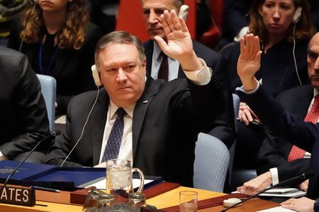 At u.N., Pompeo asks countries to 'pick a side' on Venezuela