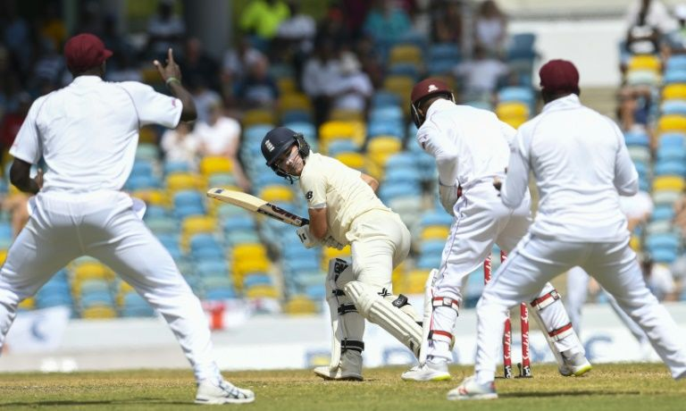 Burns falls shy of century as Chase strikes for West Indies