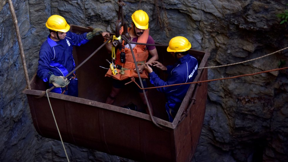 Inside the 'rat hole' mines where Indians risk their lives to find coal