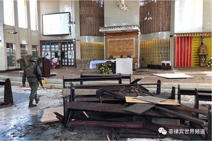 总统府: 贺洛教堂爆炸案嫌犯,虽远必诛!