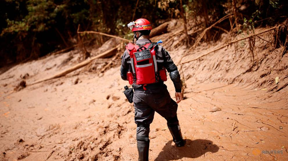 Brazil resumes search for missing after dam collapse, ends evacuation