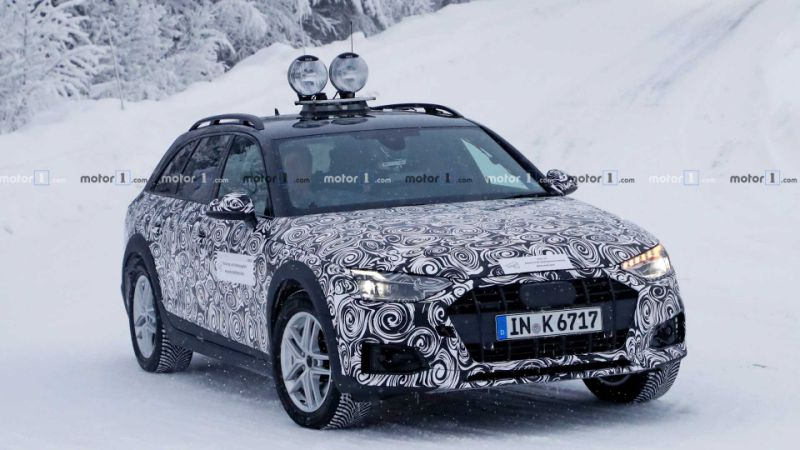 New Audi A4 Allroad spied for first time