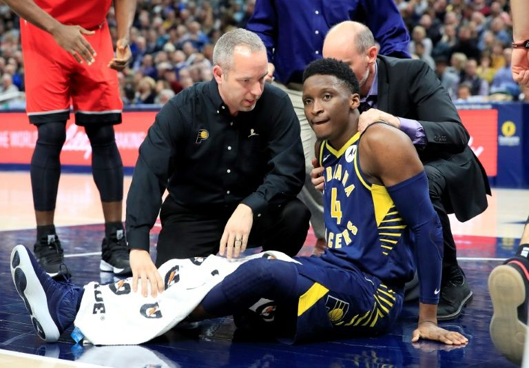 Pacers guard Oladipo undergoes right knee surgery