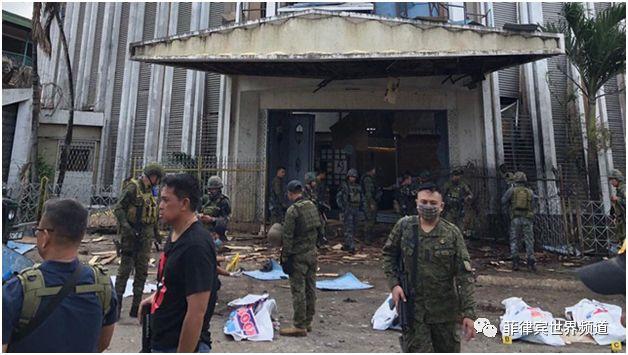 这个组织声称为菲教堂爆炸案负责
