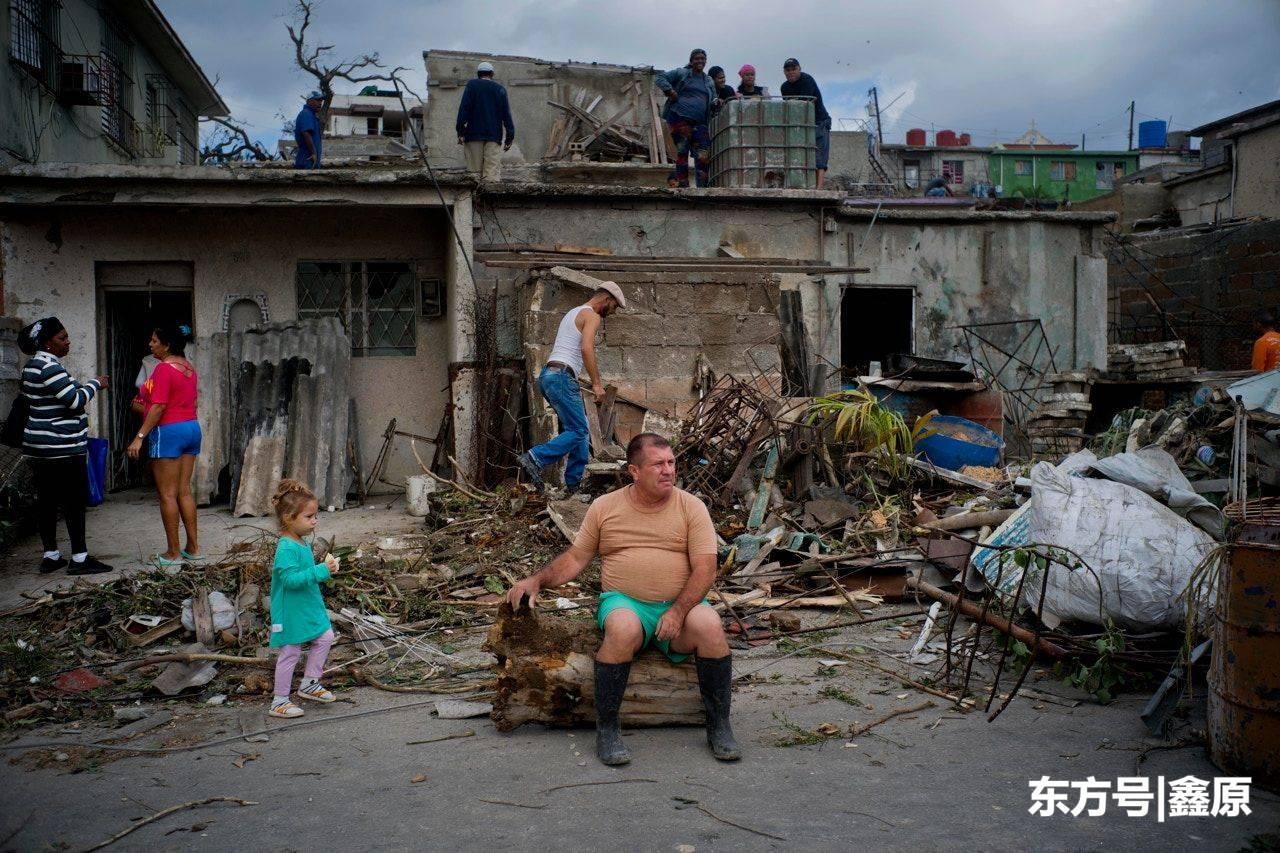 古巴遭80年来最强龙卷风袭击,满目疮痍,至少酿4死195伤!