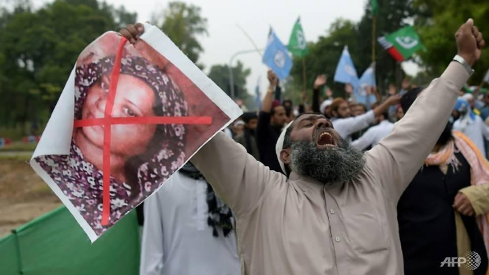 Pakistan rejects challenge against Asia Bibi acquittal
