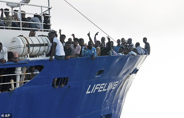 'Not married? Fall in love with someone who doesn't have the right to stay here': Aid group rescuing people in the Med appears to suggest supporters MARRY illegal immigrants