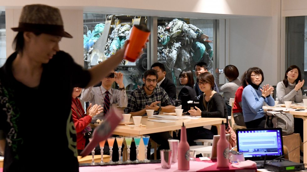 Welcome to Tokyo's Gome Pit: a pop-up bar in a rubbish dump designed to make drinkers think about sustainability