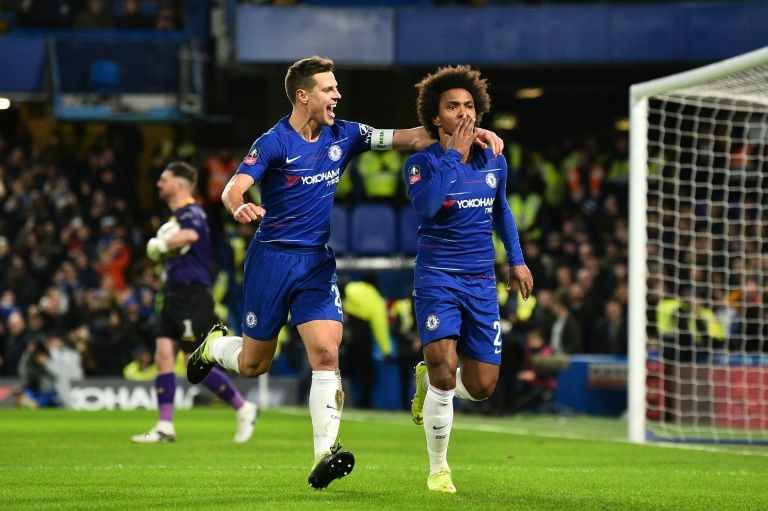Holders Chelsea draw Man Utd in FA Cup fifth round