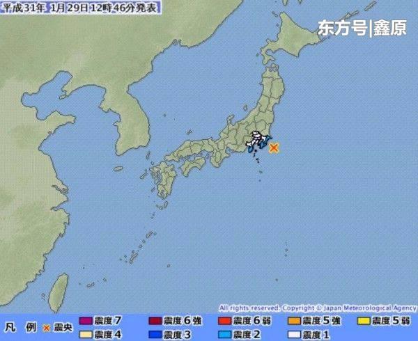 日本关东千叶近海发生5.3级浅层强震,暂无海啸威胁!