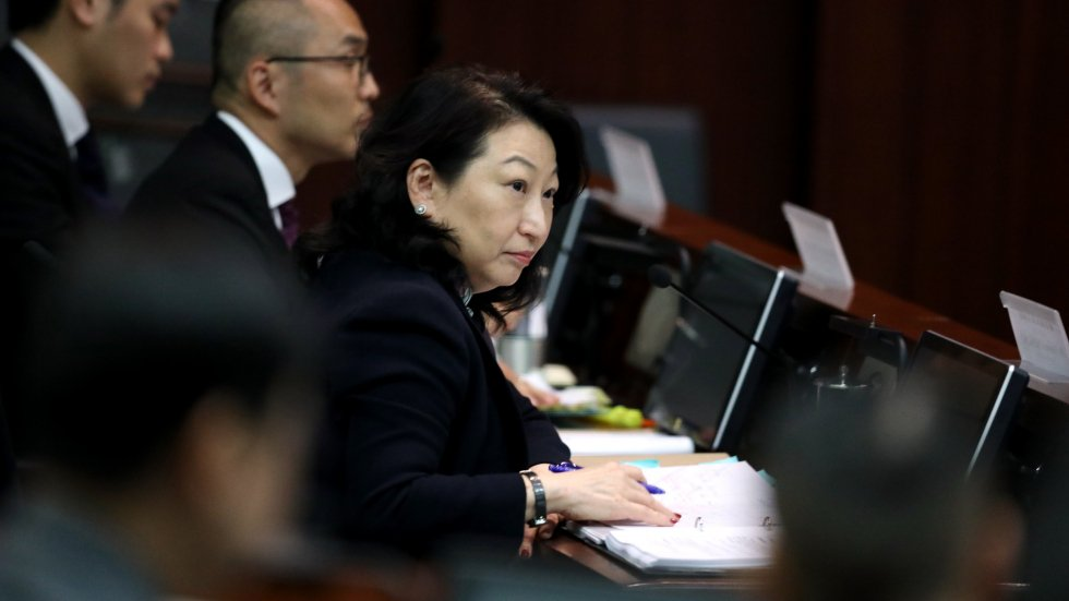 Hong Kong lawmakers vote down no confidence motion against embattled justice chief Teresa Cheng over dropped CY Leung case