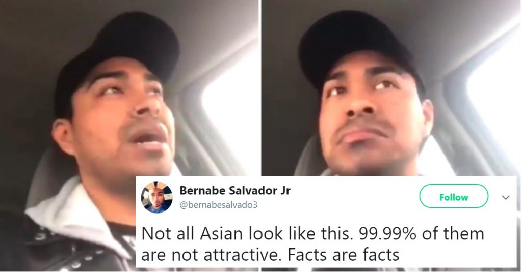Gay Twitter Drags Man for Saying '99.99%' of Asians are 'F**king Ugly'