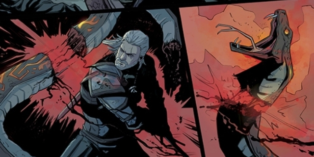 Exclusive First Look at 'The Witcher: Of Flesh and Flame' Issue #3