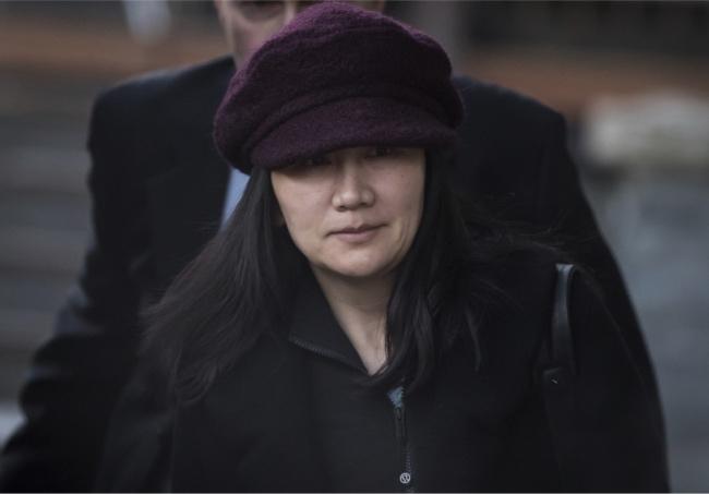 孟晚舟再度现身法庭 3月听取加拿大司法部长引渡决定