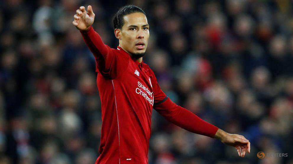 Football: Liverpool's van Dijk in doubt for Leicester game