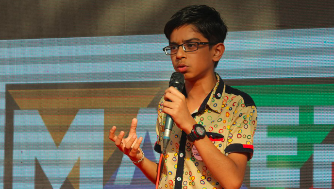 16-year-old Indian prodigy has developed a drone that can detect and destroy landmines