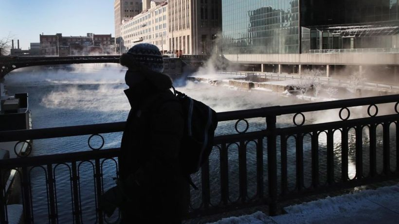 Polar vortex: Ice quakes, burning railways and other quirky effects