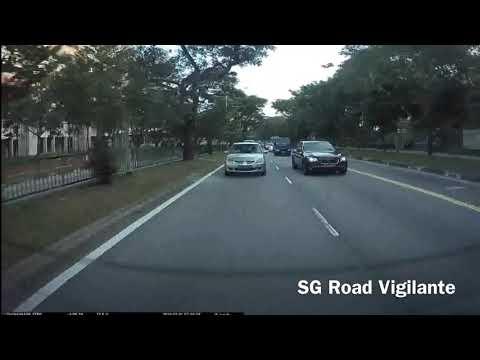 malaysia rider lane split , crash into dump truck & accuse cam car driver of hitting him