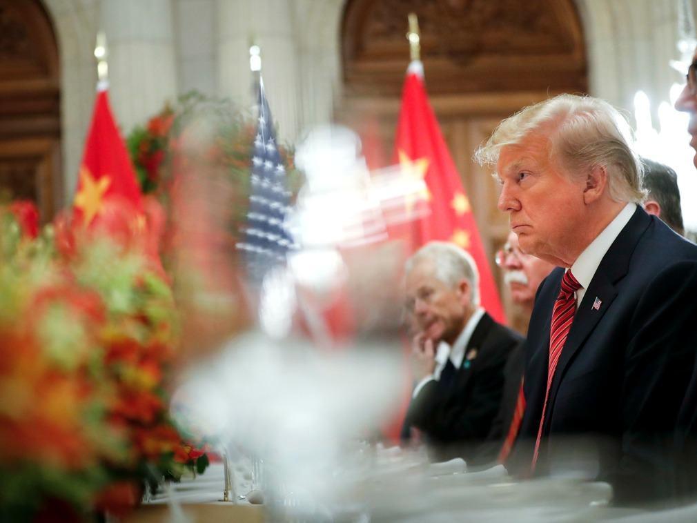 川普连发3条推特:不见习主席 与中国就无最终协议(图)