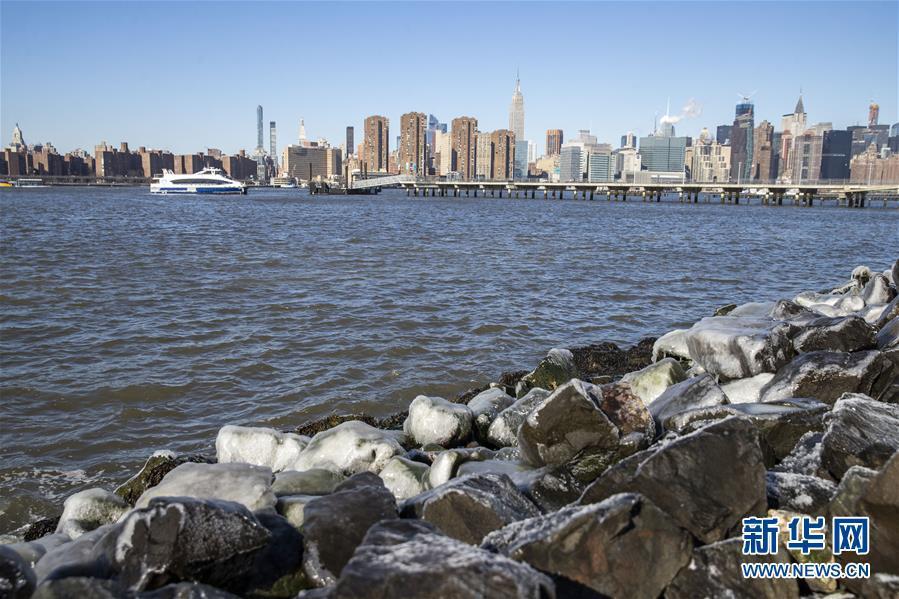"""受""""极地涡旋""""影响,纽约大幅降温"""
