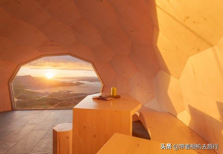 挪威有一栋最美极光小屋,供旅行者免费使用