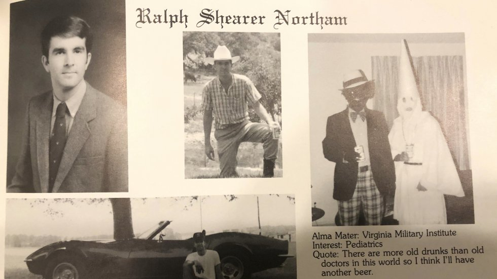 Virginia governor Ralph Northam apologises for blackface and KKK photo in university yearbook