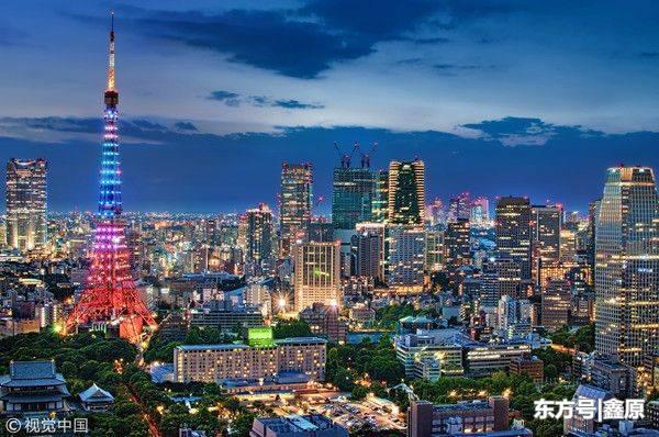 """史上首次!东京铁塔除夕夜""""点亮中国红"""",共贺中国年!"""