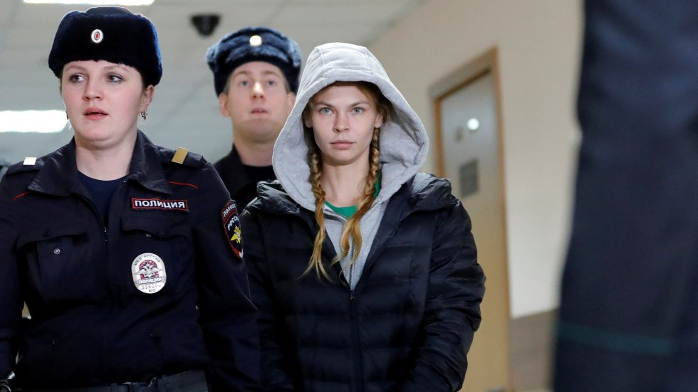 Belarusian 'sex trainer' Anastasia Vashukevich claims she handed over information about Russian election meddling to oligarch Oleg Deripaska